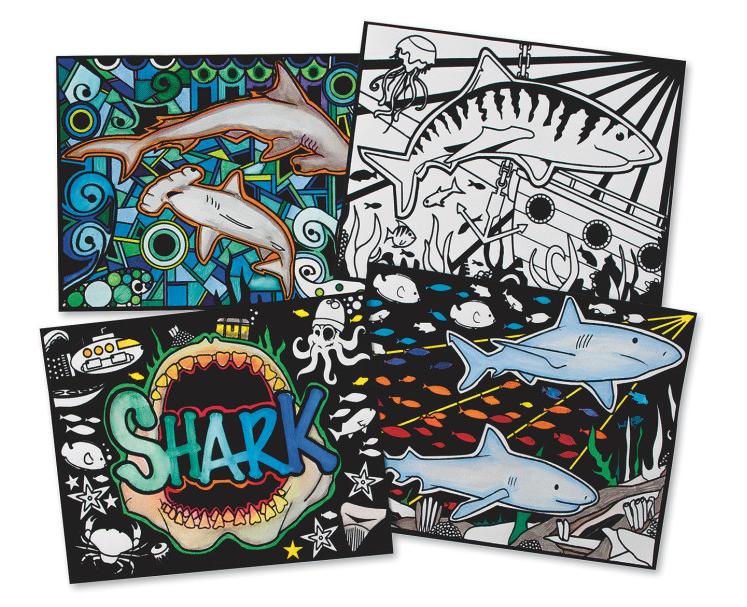d3a4e551 Kids Shark Craft Ideas for Shark Week - S&S Blog