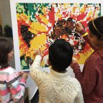Sticker Mosaic Posters – Collaborative Art Activity
