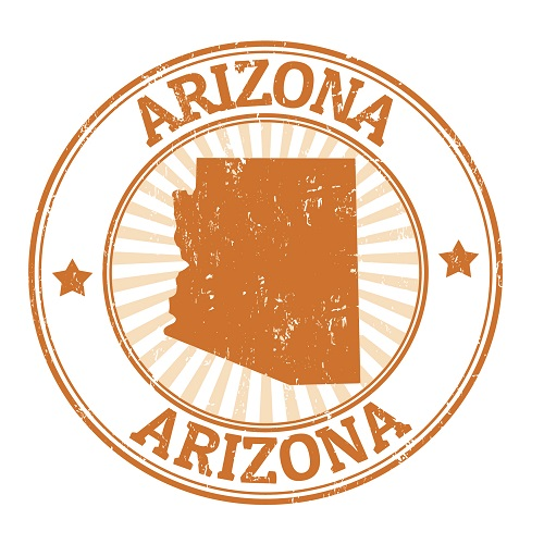 Arizona across the usa