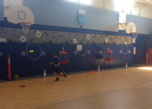 Fast Math Frisbee physed
