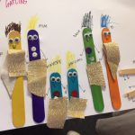 Library Storytime Activity – Craft Stick Families