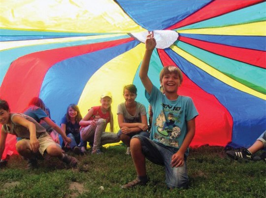 field day parachute