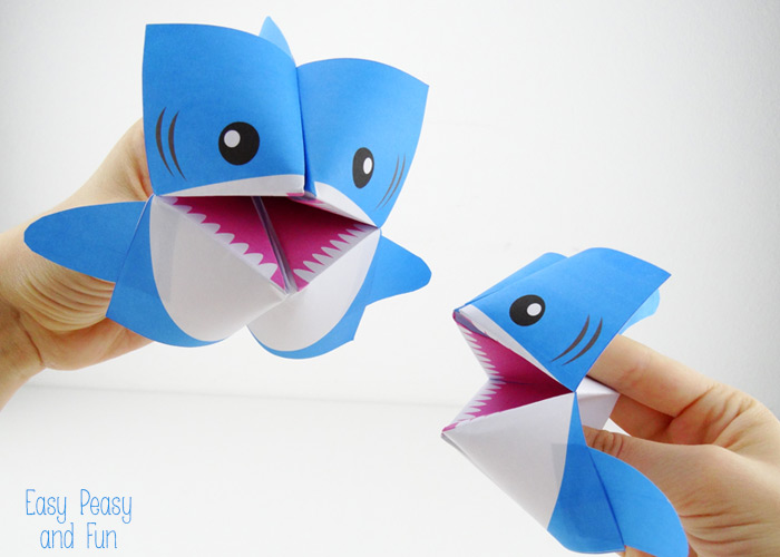 Kids Shark Craft Ideas For Shark Week S S Blog