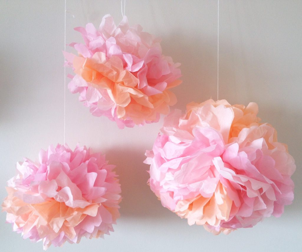 tissue paper crafts how to make tissue paper flowers craft tutorial s amp s 3114