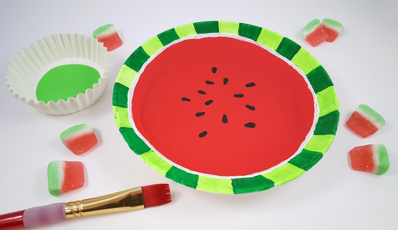 watermelon craft activity