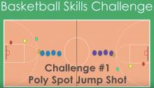 basketball challenge PE