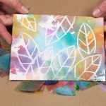Tissue Paper Painting – Bleeding Color Art Activity