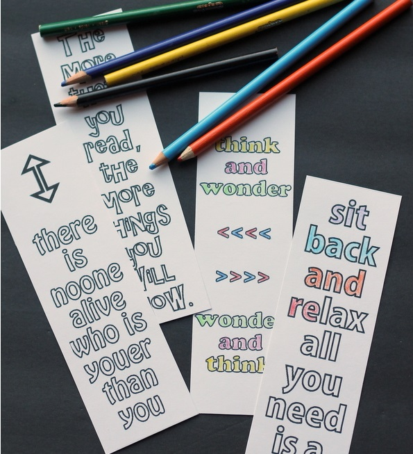 dr suess free bookmark