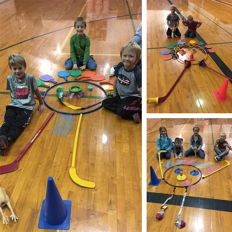 build a turkey in PE activity