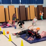 Catapult PE Game For Student Fitness