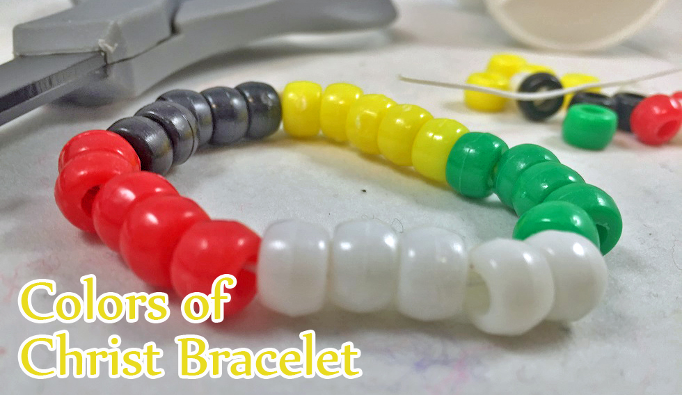 christian bracelet craft