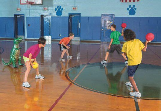 dino dodgeball - a dodgeball alternative