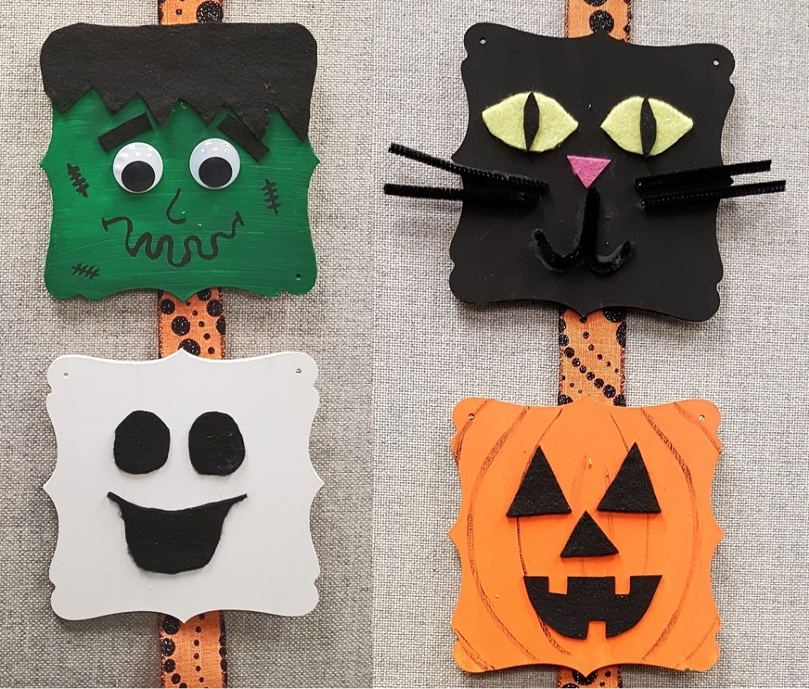halloween DIY wood decoration
