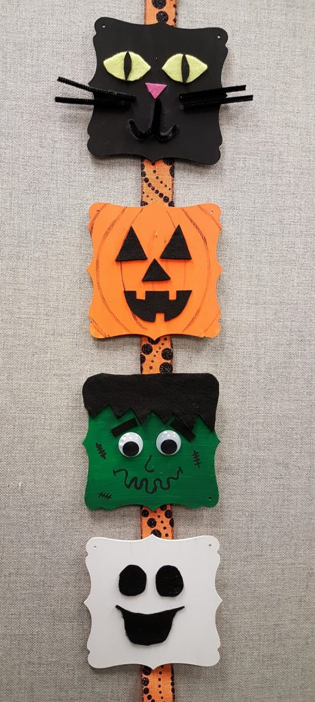 Halloween craft decoration