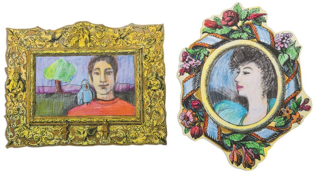 Historical Art Frames Educational Craft For The Classroom Ss Blog