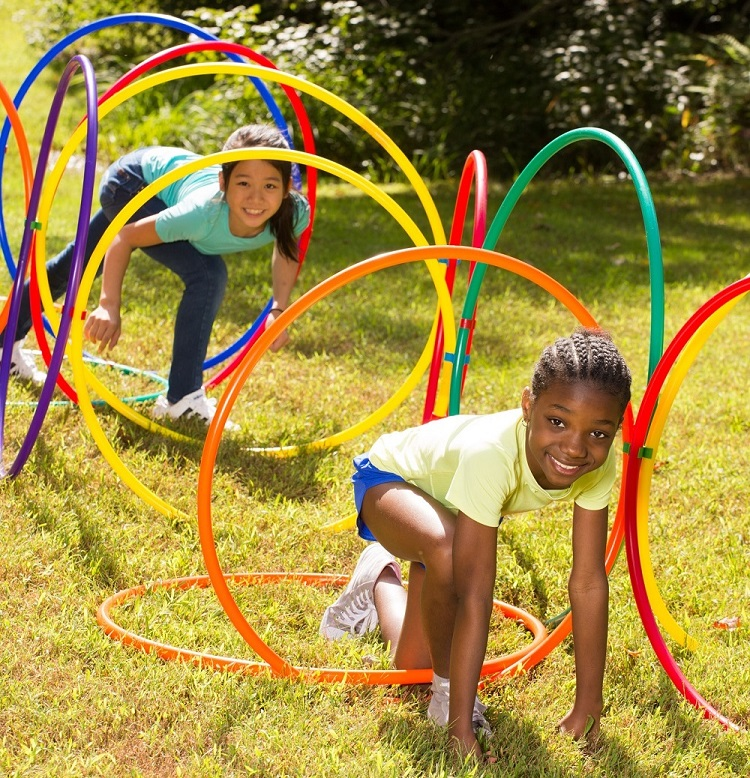 hula hoop pe activities