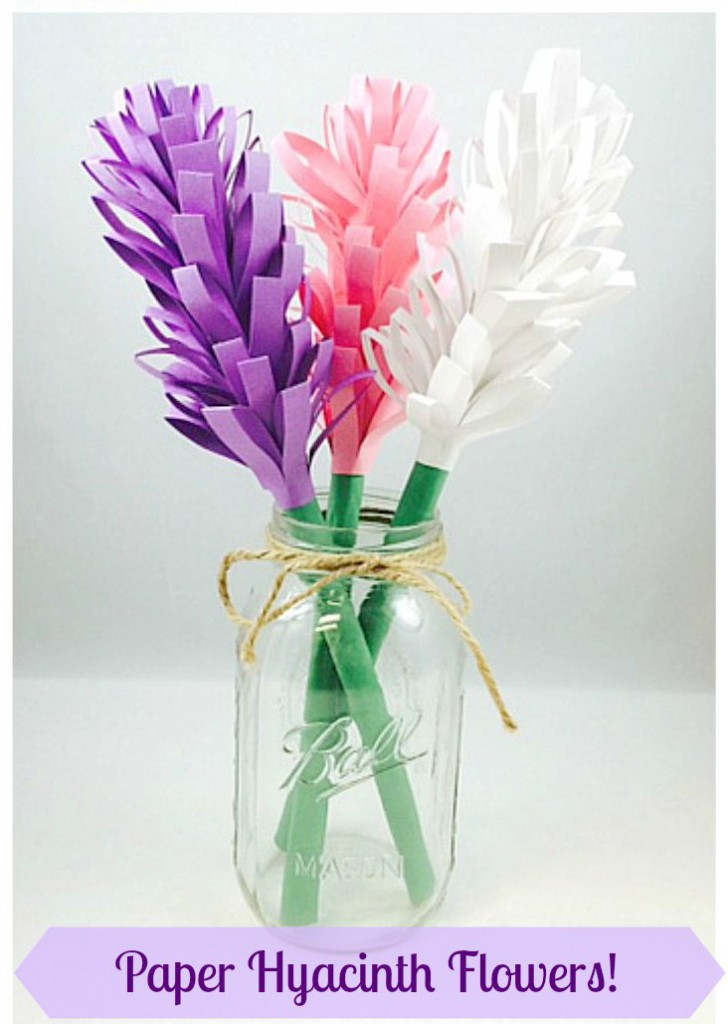 Paper Crafts Hyacinth Flowers