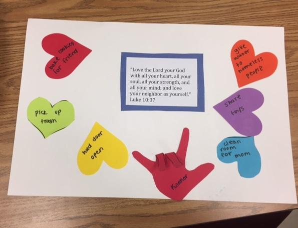 Love Our Neighbor Church Craft Activity S S Blog