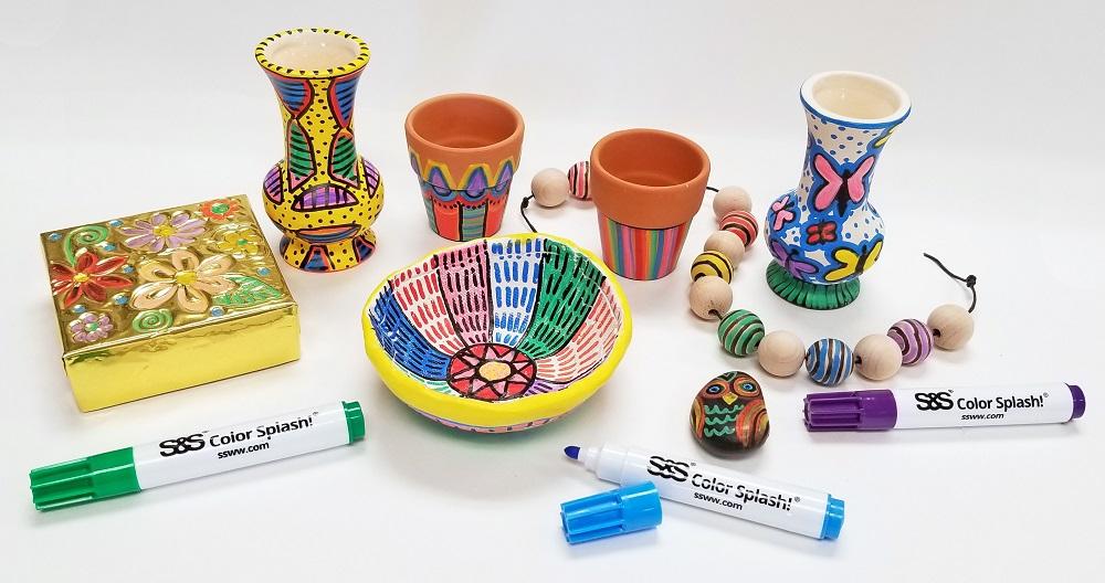 multi surface marker crafts