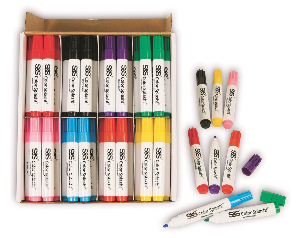 multi surface markers craft activities