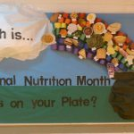PE Bulletin Boards & Lessons Plans for Nutrition Month