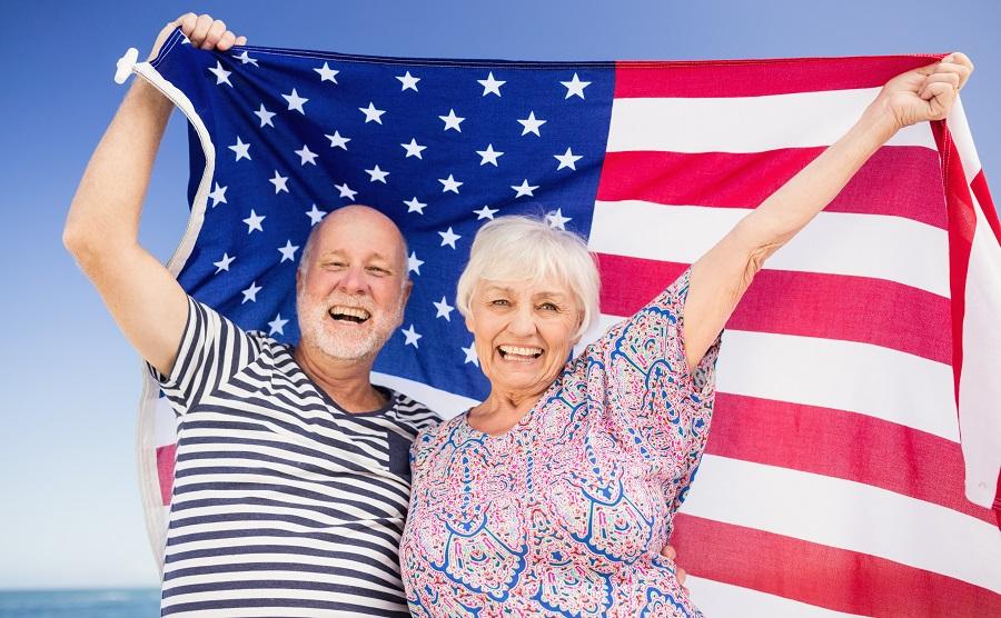 patriotic symbols senior facility