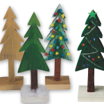 Pine Tree Wood Craft for the Winter Season