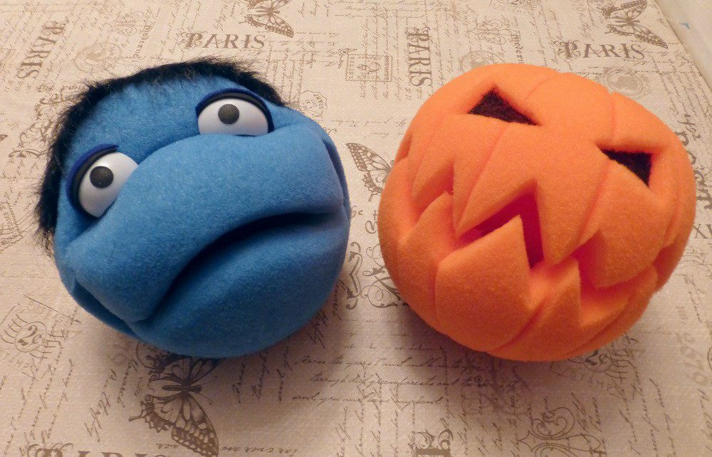 Using Foam Balls to Make Puppets - Homeslice Puppetry - S&S Blog
