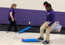 rocket launchers STEM night PE