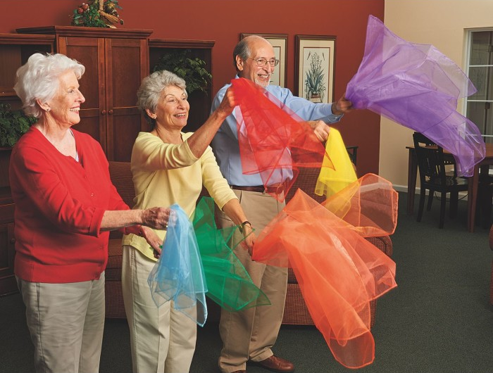 senior movement therapy ideas