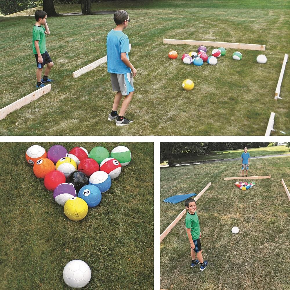 soccer billiard field day
