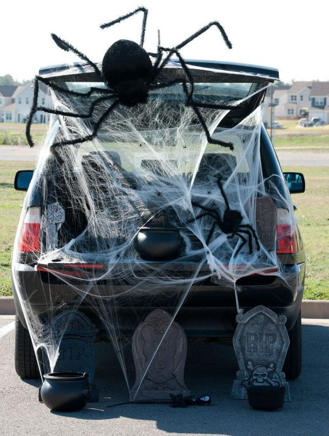 Diy Trunk Or Treat Ideas For Halloween Ss Blog