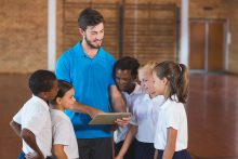 technology PE teachers