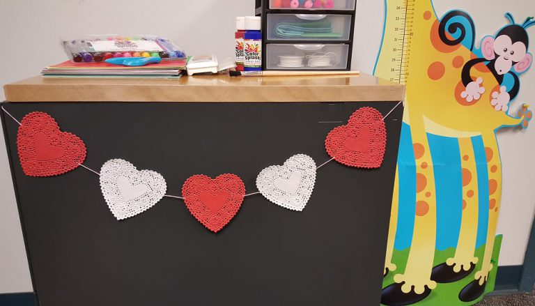 valentines day heart crafts classroom