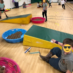 Winter Activity for Throwing, Catching & Rolling PE Unit