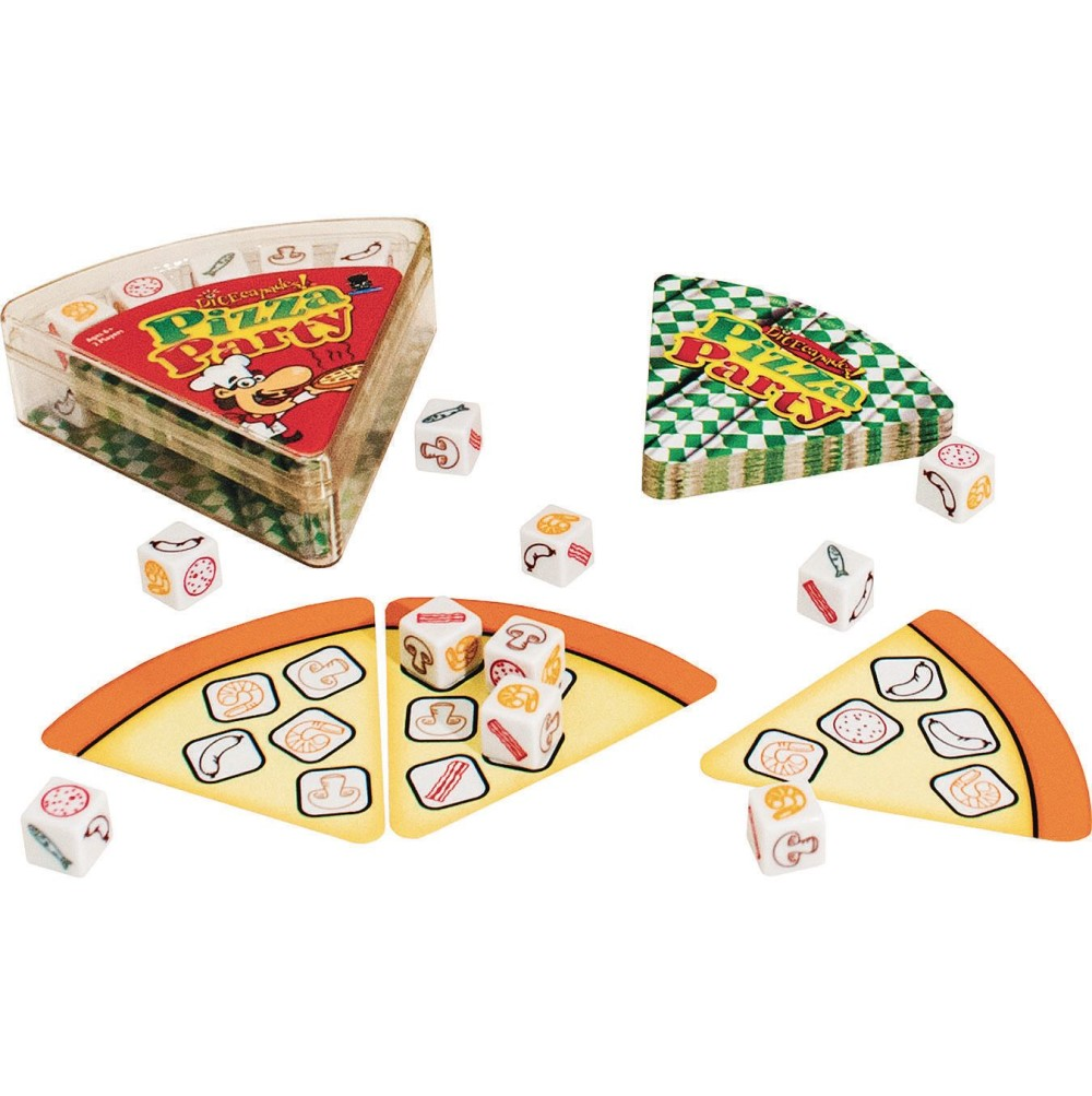 Dicecapades Pizza Party Game