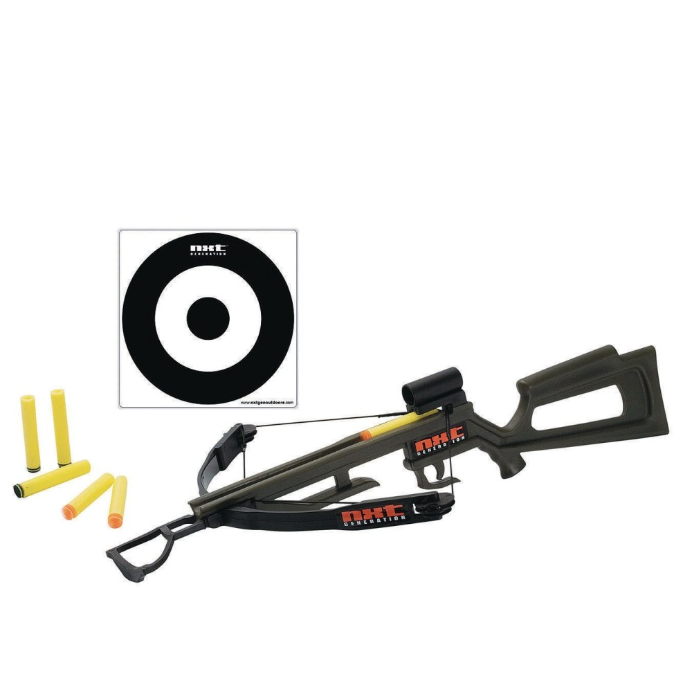 NXT Crossbow with Target & Foam DARTS