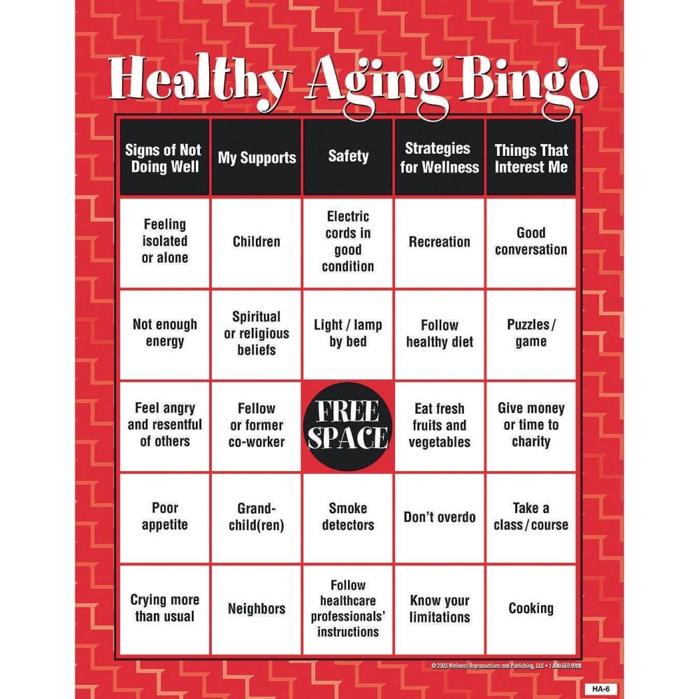 Die guidance group gesund altern bingo