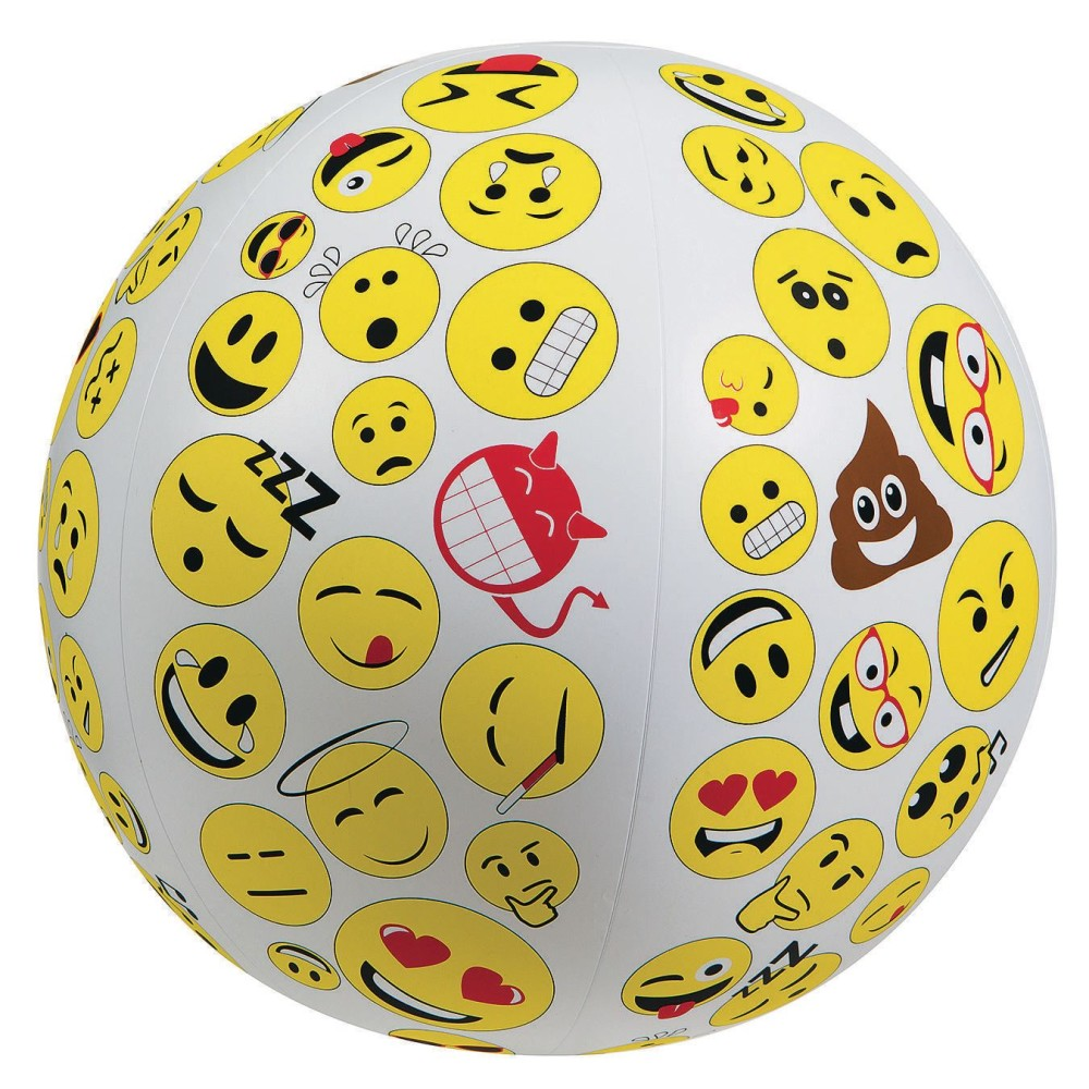 Toss n Talk About Emojis Ball