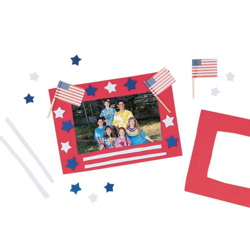Stars 'N Stripes FRAME Craft Kit (Pack of 12)