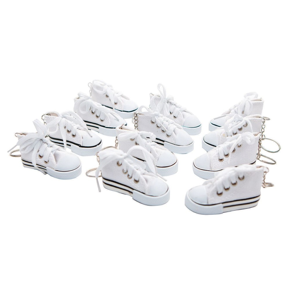 Color-Me SNEAKER Key Ring (Pack of 12)