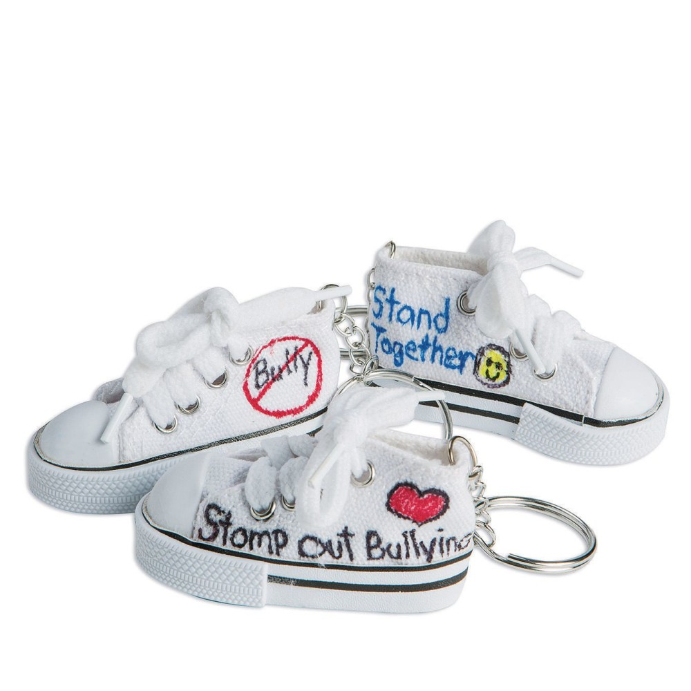 Color-Me SNEAKER Key Rings (Pack of 48)