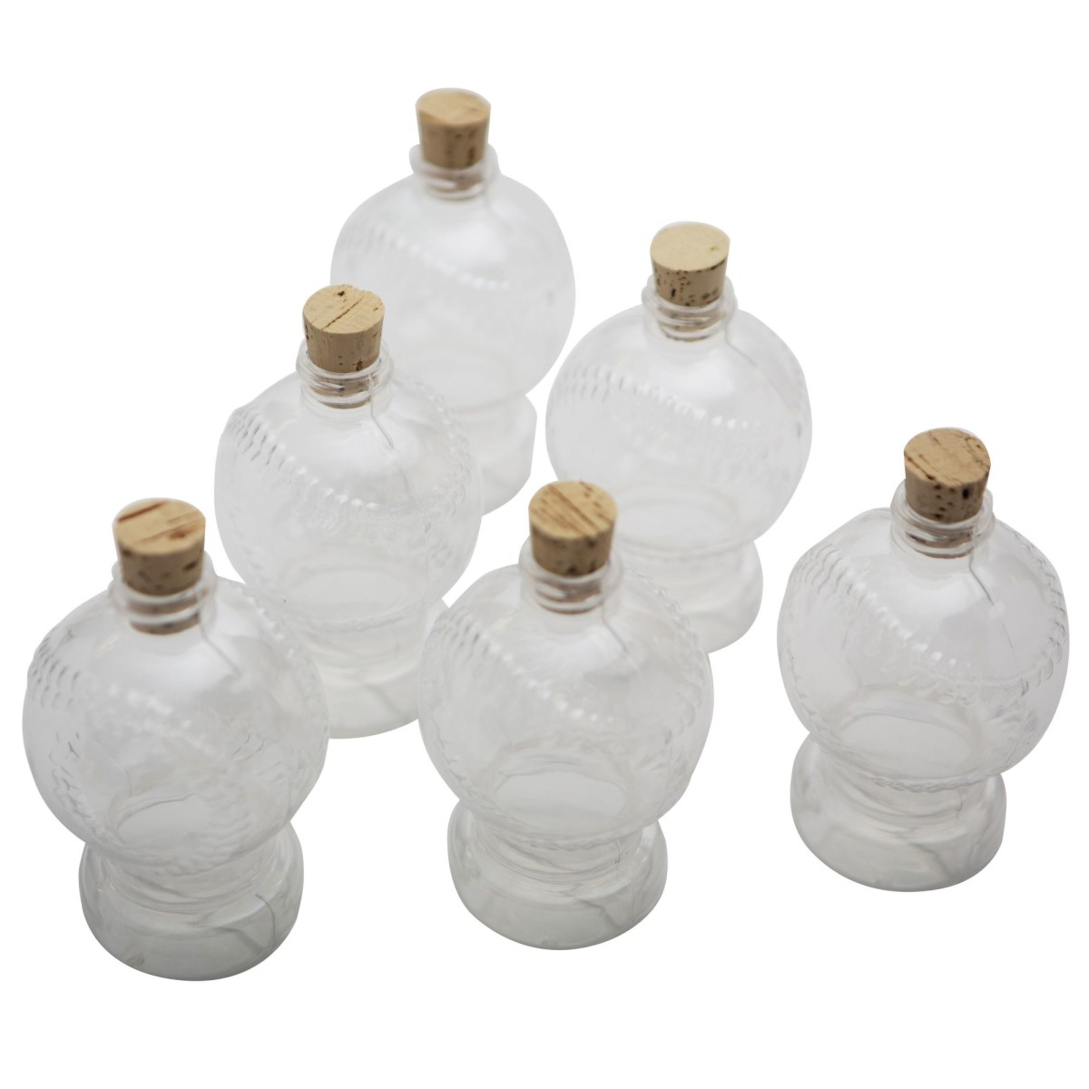 BASEBALL Sand Art Bottles (pack of 6)