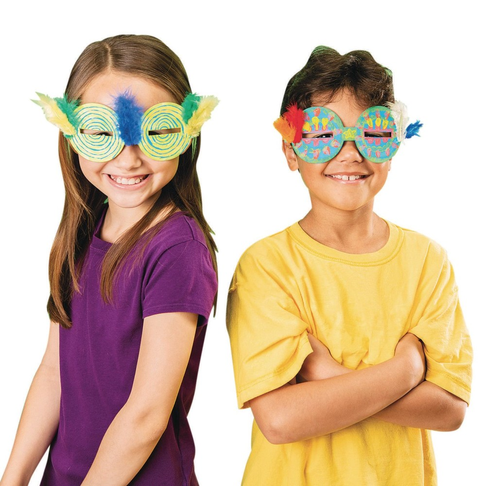 Rock Star GLASSES Craft Kit (Pack of 30)