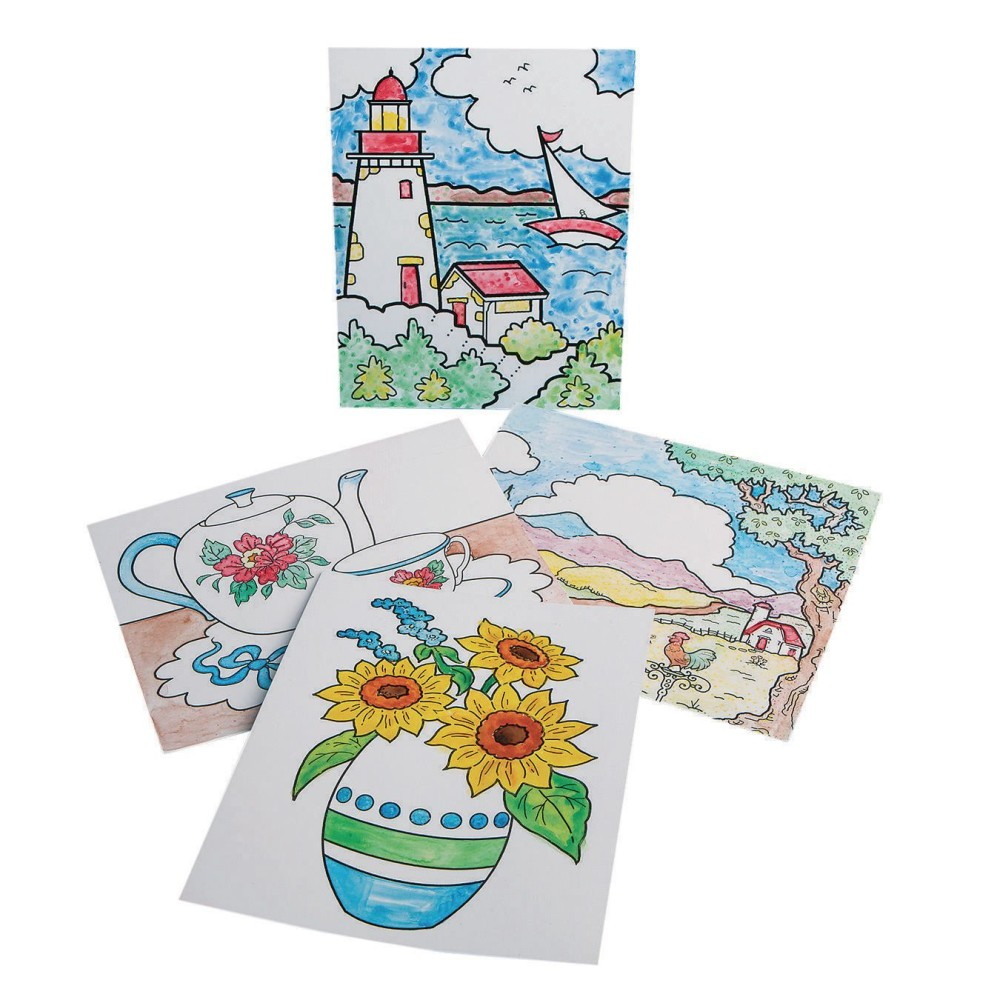 Paint-a-Dot Everyday Scenes (Pack of 24)