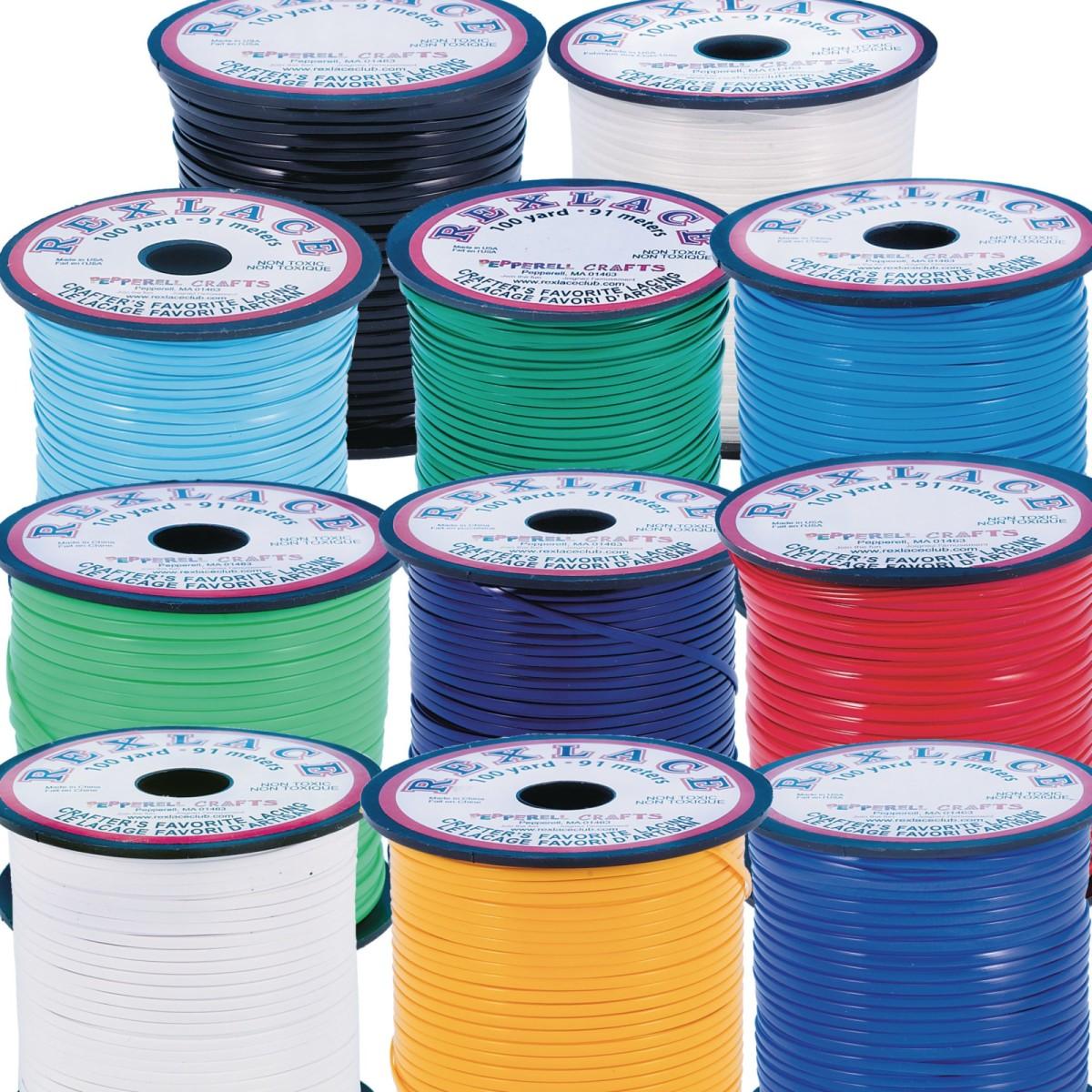 Rexlace® Lacing, 100-yd. Spool-NEON ORANGE