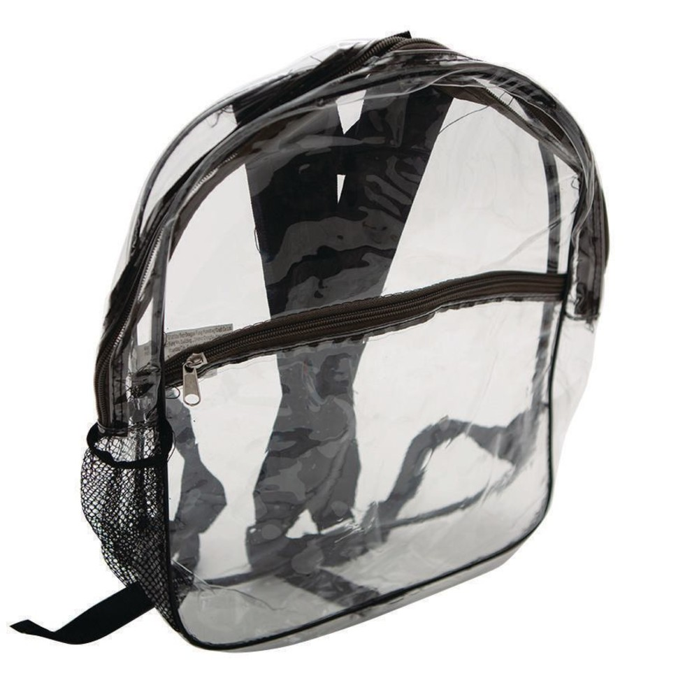 ''Clear Front Backpack, 15IN''