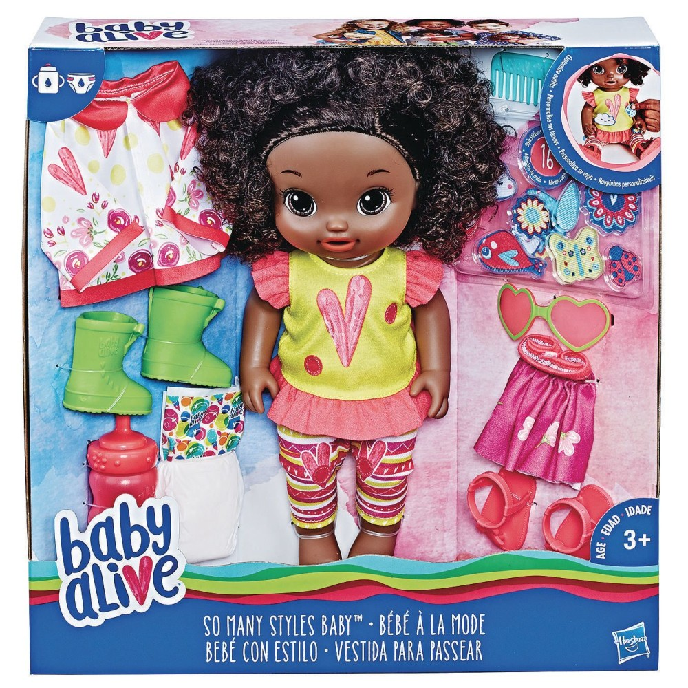 Baby Alive® So Many Styles Doll