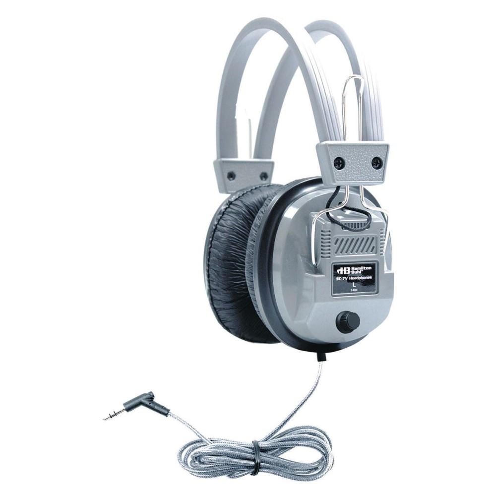 Hamilton Stereo/Mono Deluxe HEADPHONES, 4-in-1 design w/ volume control