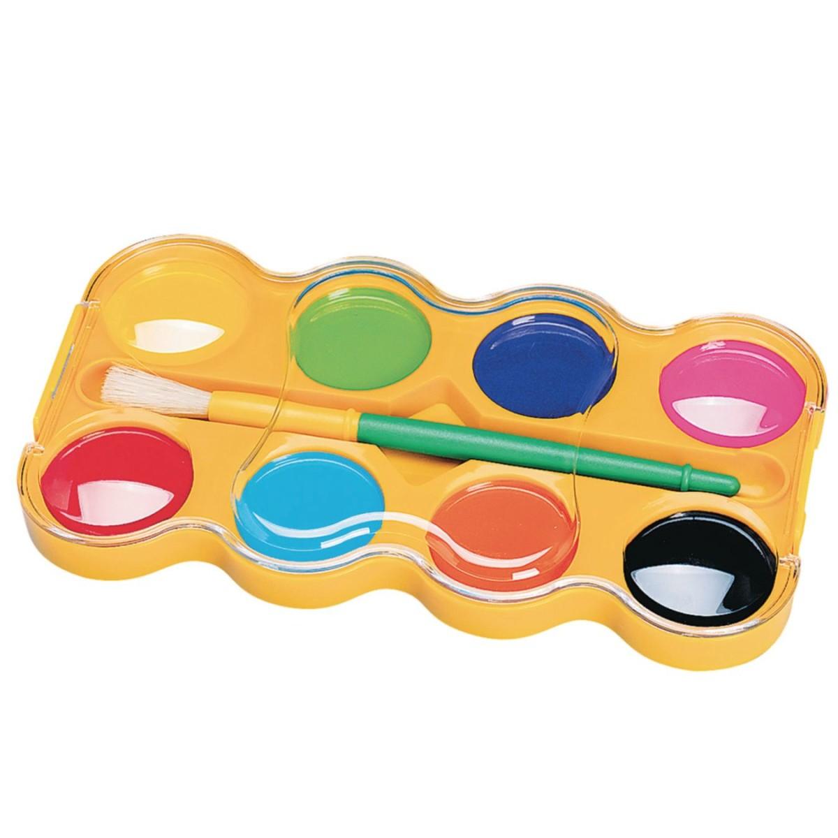 Color Splash!® Jumbo Watercolor Paint Tray